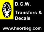 D.G.W. Transfers & Decals